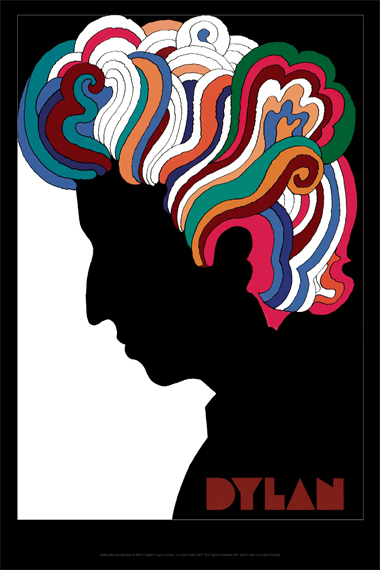 Glaser's Dylan poster